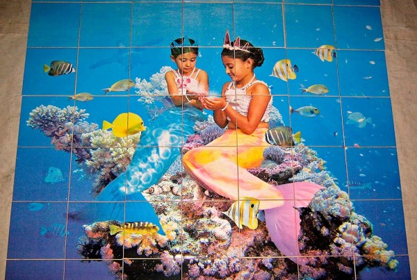 Mermaids-Mural-for-Private-Residence