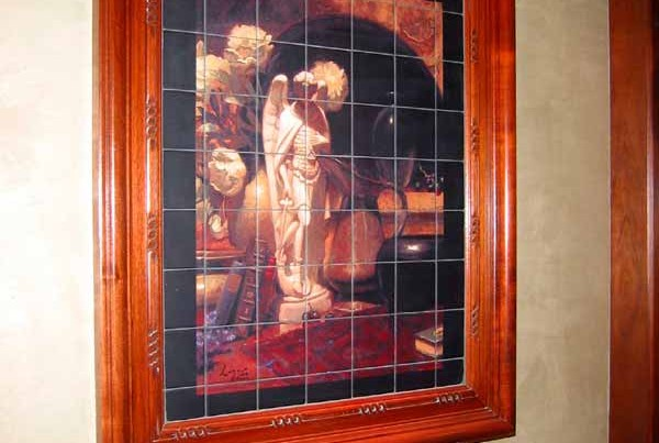 Wall-Mural-Framed-with-Moulding