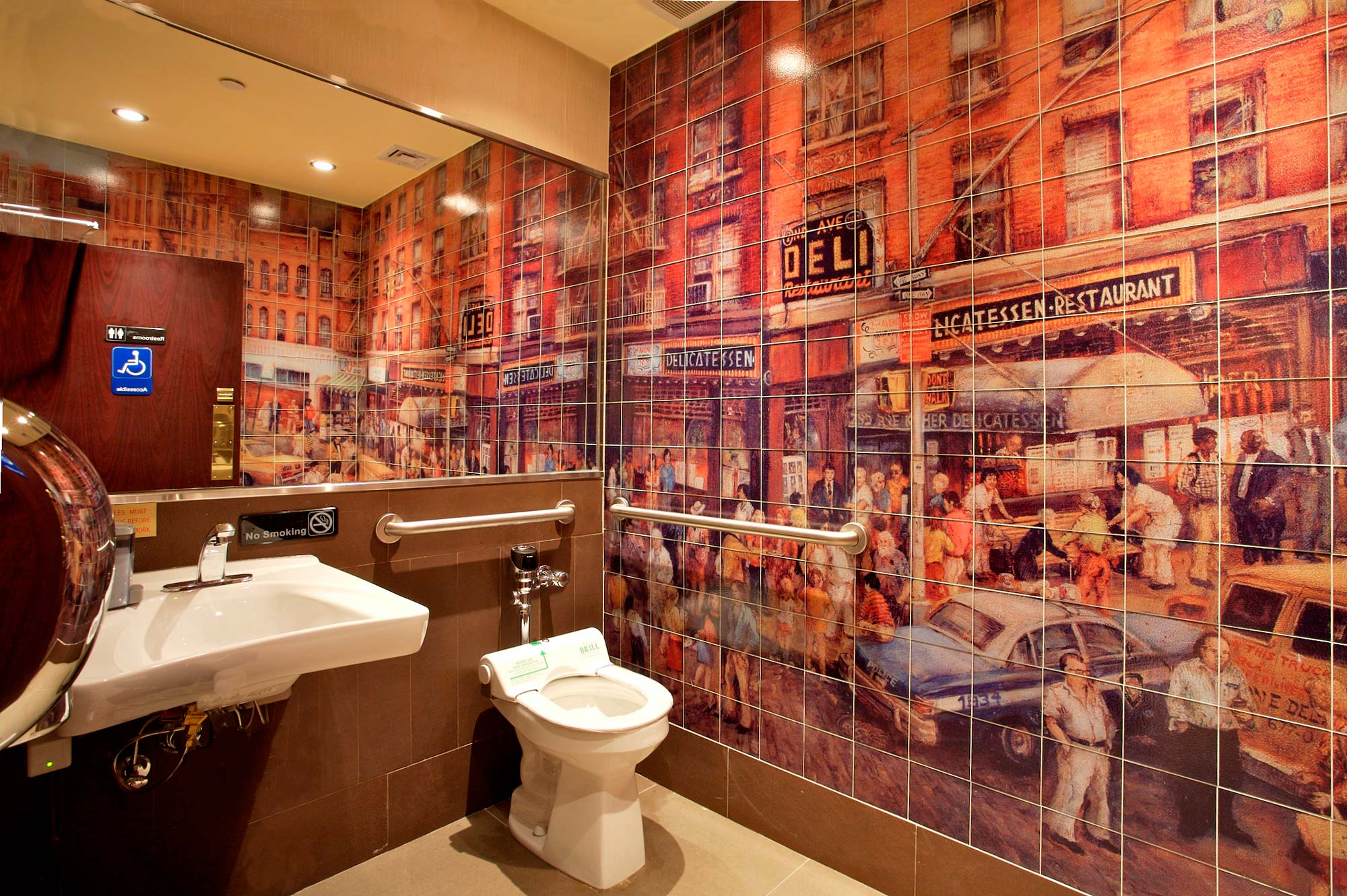 2nd Ave Deli Images In Tile Usa