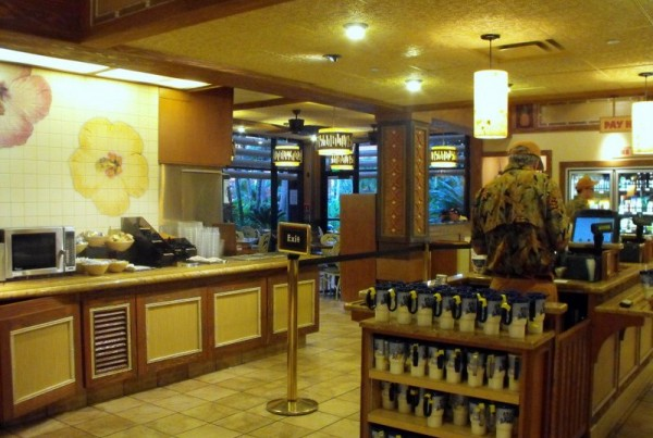 Disney Polynesian Resort - Captain Cook's 01