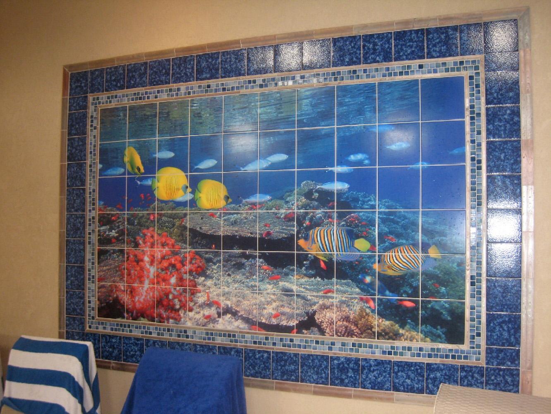 Pool Room Mural 01