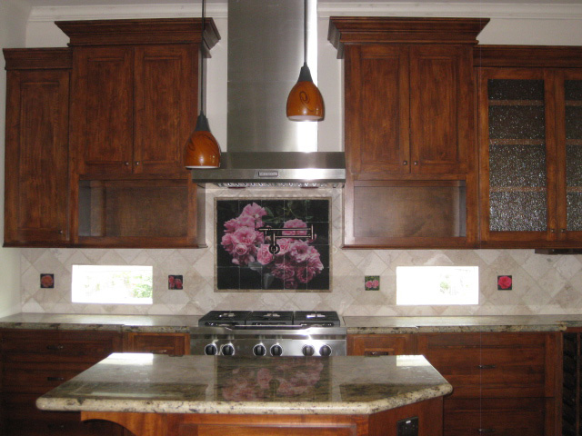 backsplash mural and accent tiles images in tile usa