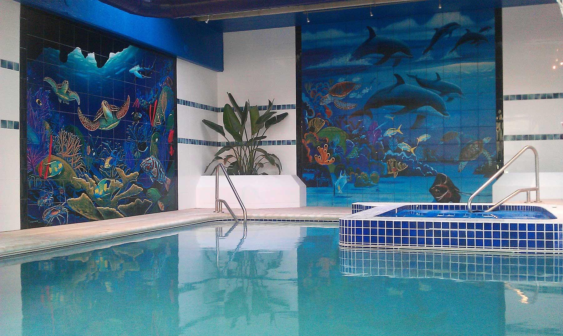 Wyland-Pool-Murals